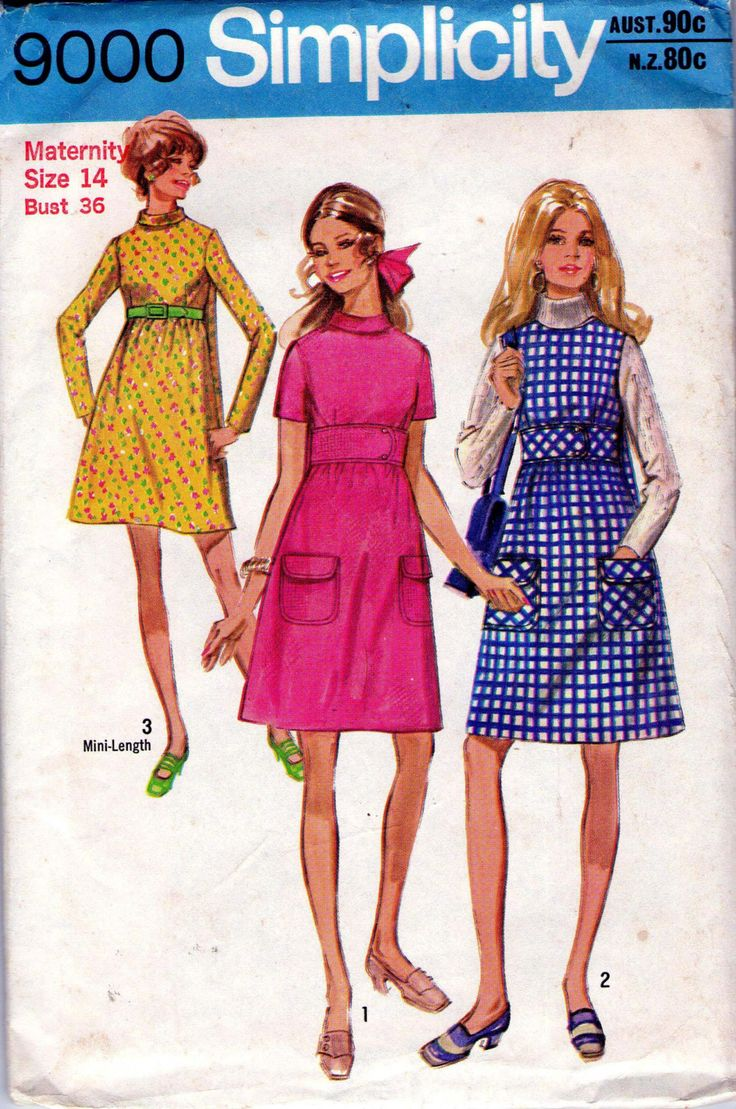 1045 best maternity wear thru the ages images on pinterest 70s vintage maternity dress sewing pattern simplicity 9000 ombrellifo Gallery