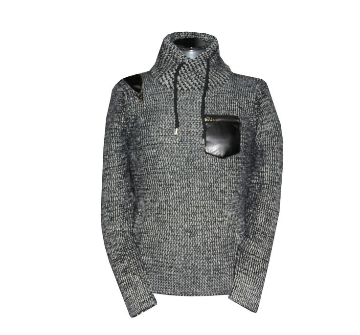 CPJumper 007 L-Grey - Made me giggle it's a 'James Bond' Jumper - RRP£50 - pinned by Wyatt Shoe Shop