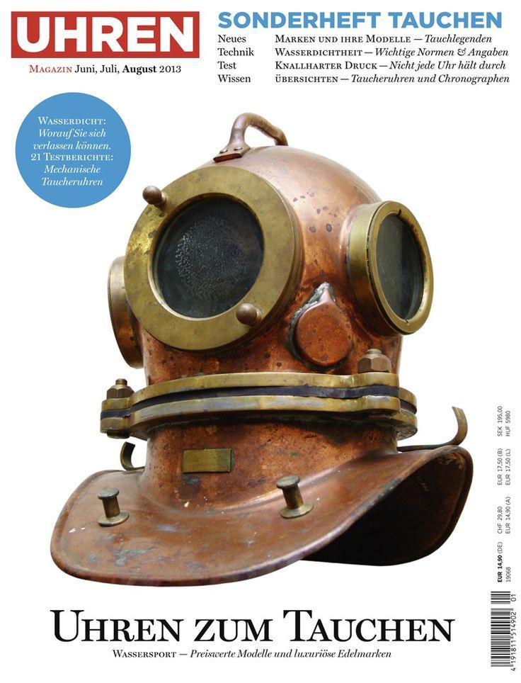 UHREN-MAGAZIN Sonderheft Tauchen | Unter Wasser | Pinterest