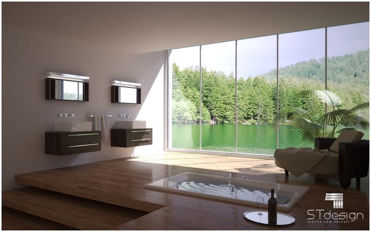 We offer professional 3D visualization bathrooms for web pages, catalogs, billboards and other presentation materials. @stdesign3d : studio www.st3d.cz