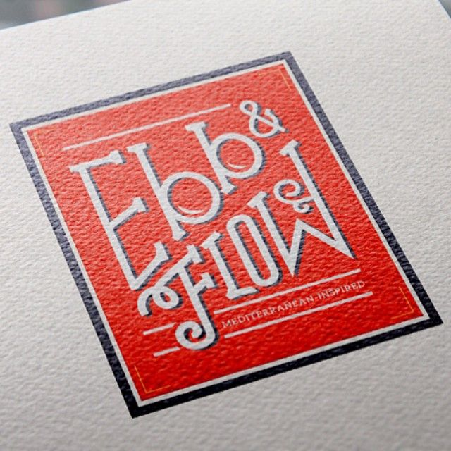 Sneak peek at the new logo we created for Chef William D'auvray's new restaurant concept Ebb & Flow, in beautiful Portland Maine! #portlandmaine #portland #branding #design #graphicdesign #logos #logodesign #restaurant #restaurantdesign #mrc #raleighnc #downtownraleigh #raleighdesign #newengland #mediterranean #nomnom