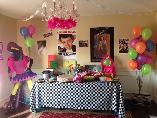retro themed decorations 50 best my zumba birthday party images on pinterest costume