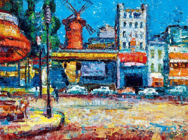 Vén Emil:Moulin Rouge (Párizs)