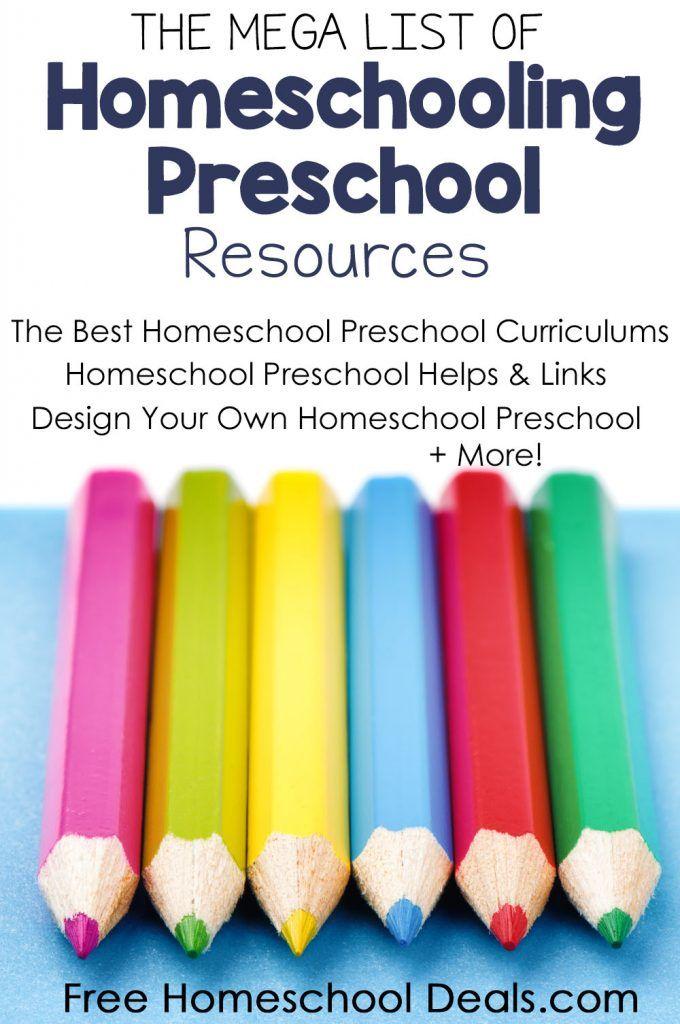 homeschooling preschoolers free curriculum list of free homeschool curriculum amp resources 245