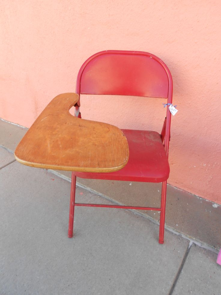 red school folding cute chair chairs Pinterest