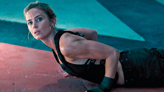 How Emily Blunt became a physical super solider for 'Edge of Tomorrow' #health #fitness #celebs