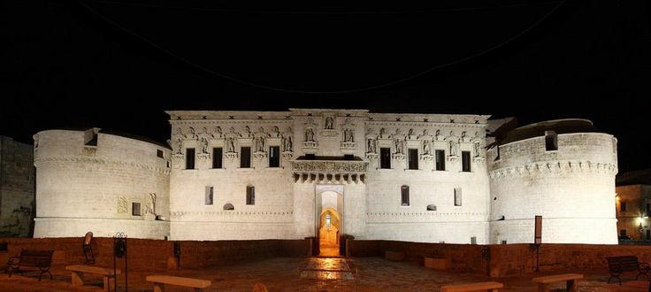 Il Castello de' Monti a Corigliano d'Otranto