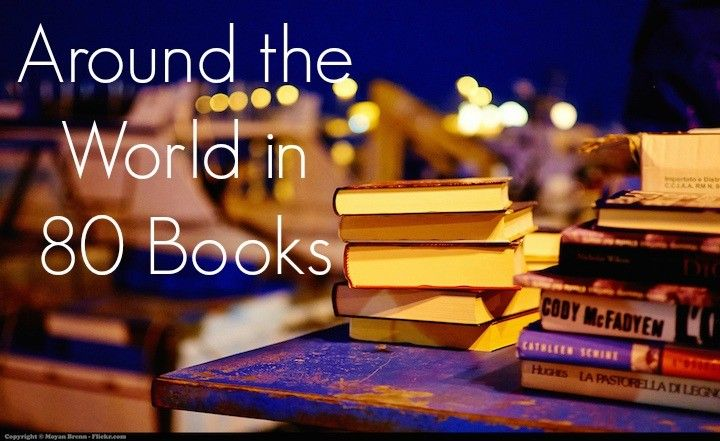 Around the World in 80 Books: A Reading Challenge | musicalpoem