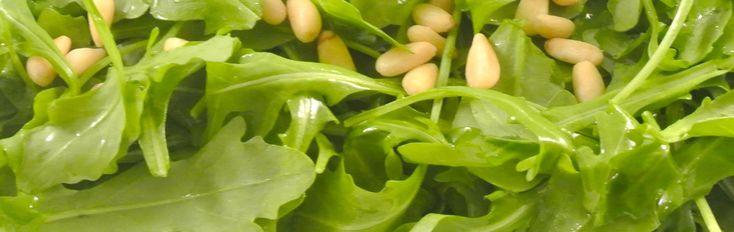 Warme rucolasalade met tijm