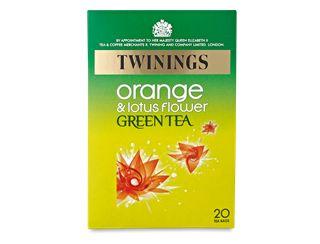 Orange & Lotus Flower Green Tea - 20 Tea Bags