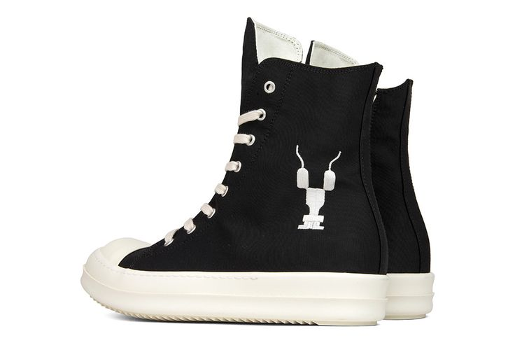 Rick Owens DRKSHDW Scarpe Vegan Sneaker - Black Natural/Milk Sole
