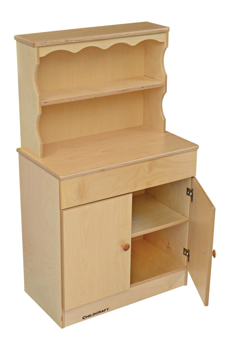 Childcraft Traditional Play Dutch Cabinet, 24 W X 13 3/8 D X