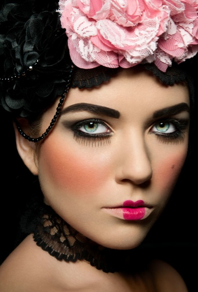 Australian make-up artist Kerry Tseros was inspired by 18th century make-up for this look. To submit your work for the chance to feature on the front cover of make up internation see for details of our KryolanCOVERLOOK competition on Facebook: www.facebook.com/KryolanProfessionalMakeUp
