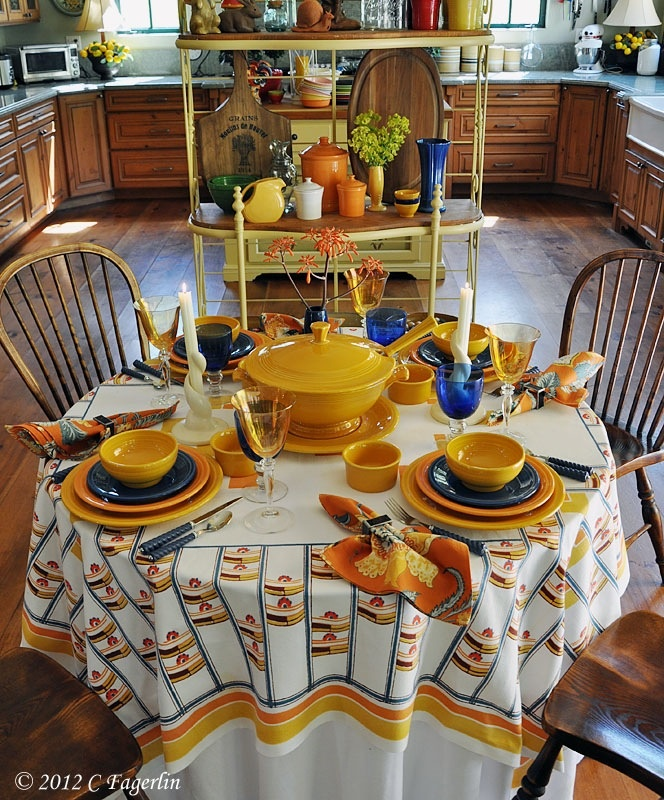 81 best Fiesta Dinnerware and Table Settings images on Pinterest ...