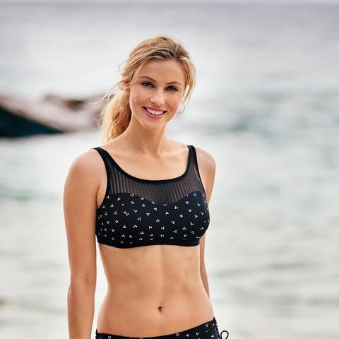 NEW! Anita Boho Beach Mastectomy Bikini Top: 12, 16