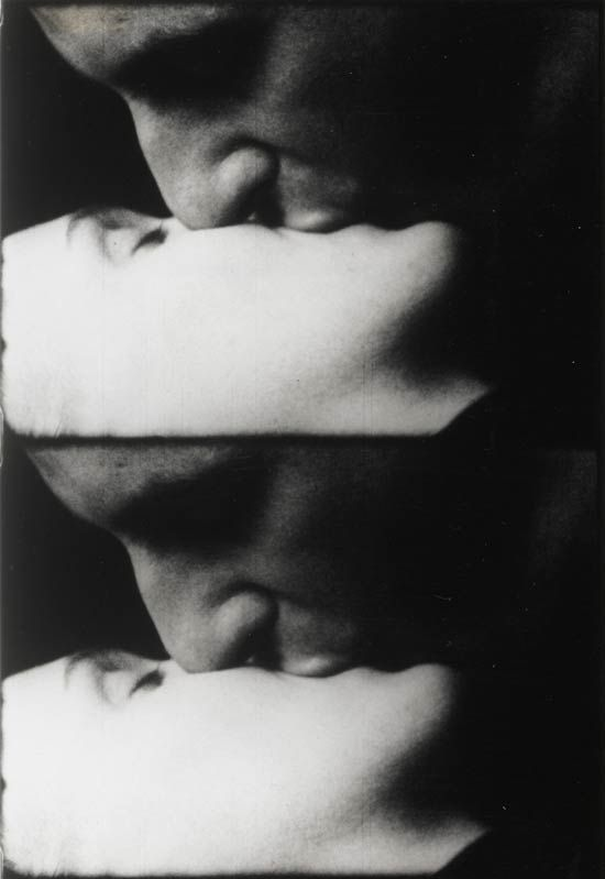 Andy Warhol. Kiss (1963-64). 16mm film (black and white, silent). 54 min. at 16fps. ©2010 The Andy Warhol Museum, Pittsburgh, PA, a museum of Carnegie Institute. All rights reserved. Film still courtesy of The Andy Warhol Museum.