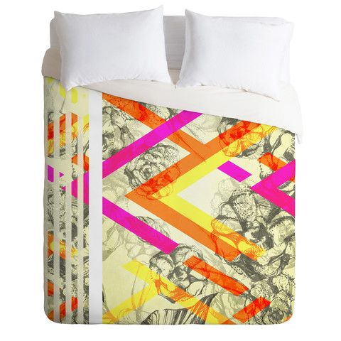 Pattern State Chevy Rose Duvet Cover