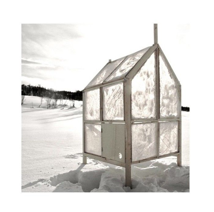 Gartnerfuglen winter ice hut l Gardenista