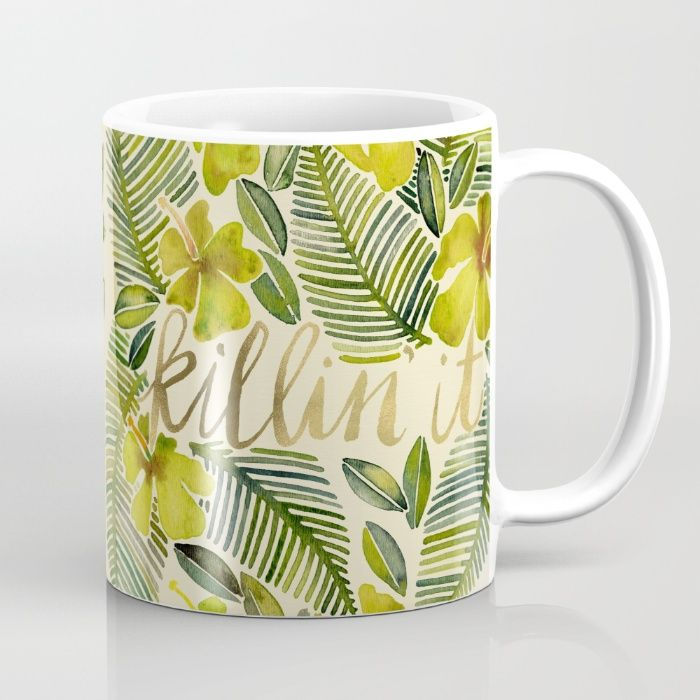 Killin' It – Tropical Yellow Mug