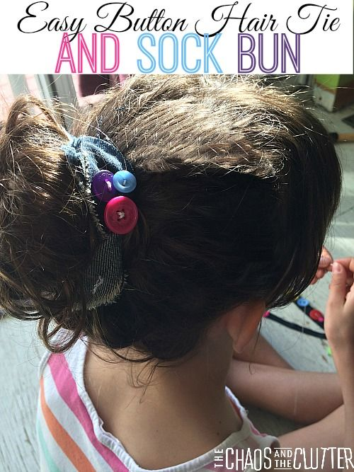 how to make sock bun curls video