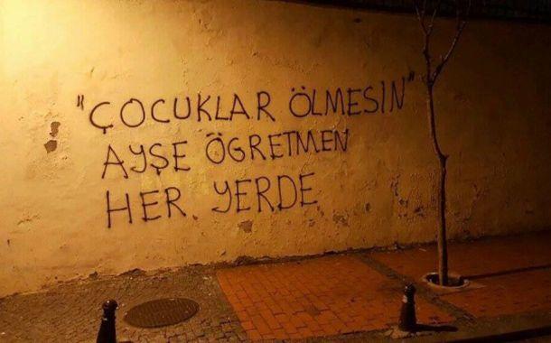"""Sendika (.) Org ///  """"Çocuklar ölmesin"""" diyen Ayşe Çelik'e 1 yıl 3 ay hapis cezası"""