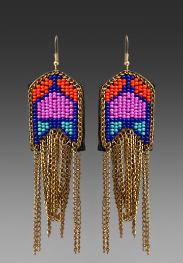 FIONA PAXTON Mareli Earrings in Pink Multi at Revolve Clothing - Free Shipping!