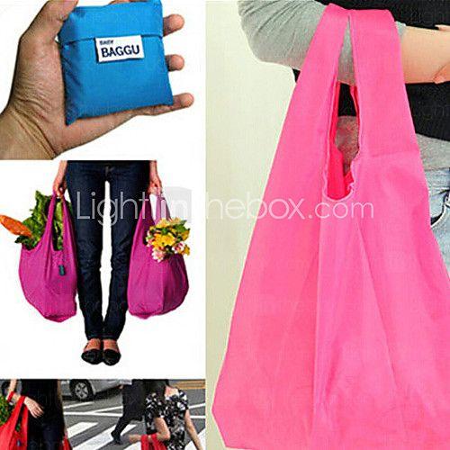 емкость многоразовые хранения мешок откидные состоянии продуктовый большие сумки емкость большая (случайный цвет) 2016 - $1.99