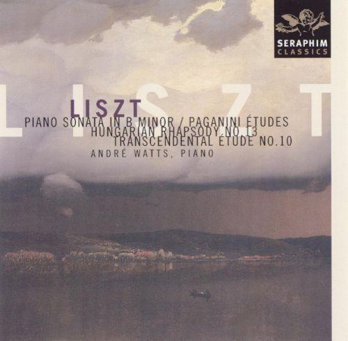Liszt: Piano Sonata in B minor; Paganini Etudes; Hungarian Rhapsody No. 13; Transcendental Etude No. 10 [CD]