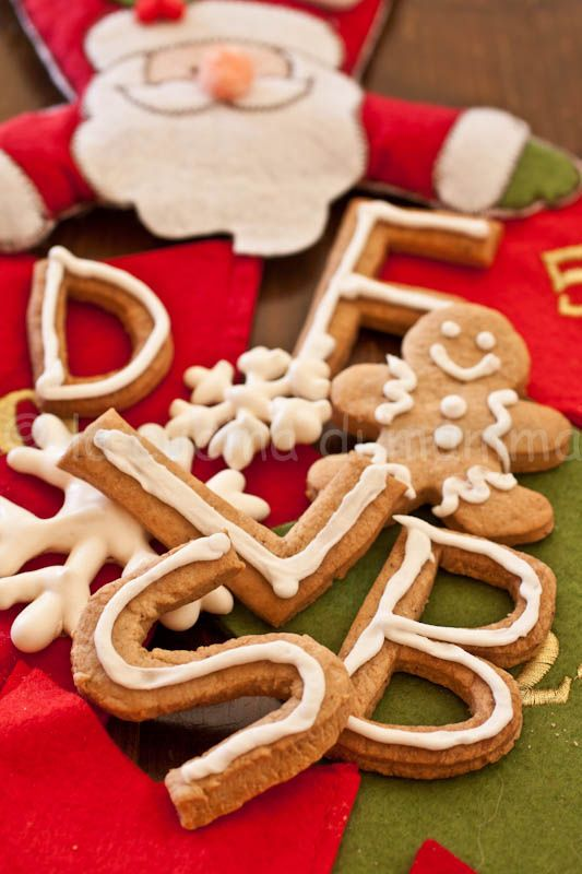 la cucina di mamma: Biscottini allo sciroppo di zucca per il calendario dell'Avvento