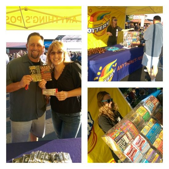 Illinois Lottery #Apmusicseries Slash with Aerosmith Concert! Because Anything IS possible! #sponsored