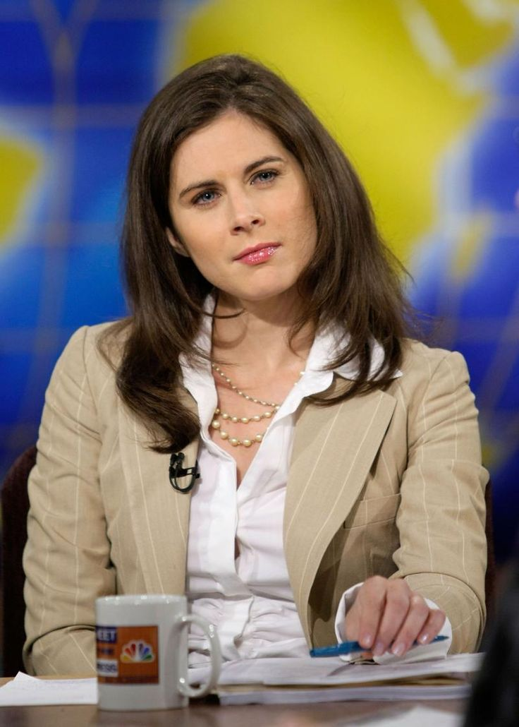 Erin Burnett   News anchor