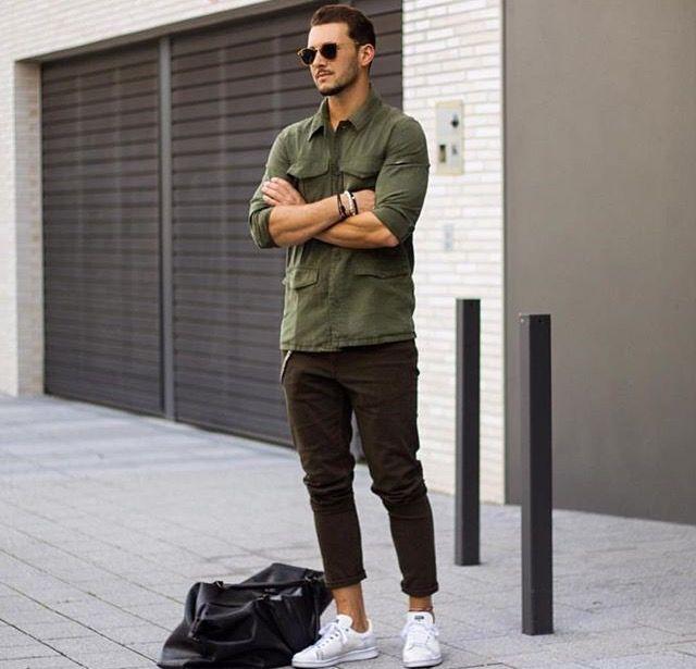 Kaki shirt