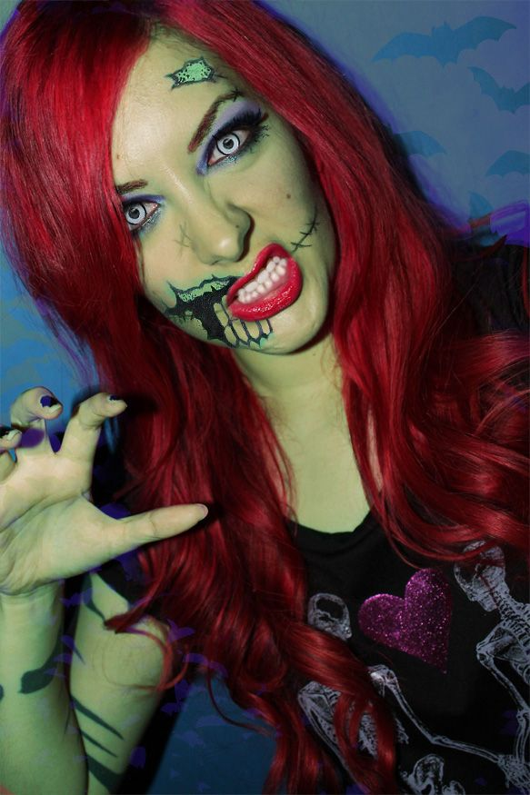 Best 25+ Zombie girl makeup ideas on Pinterest | Dead ...