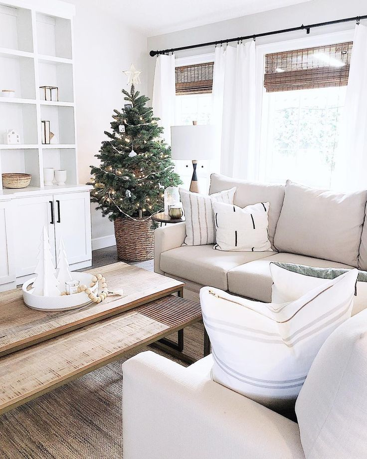 Neutral Living Room Tan Sofa White Built Ins Tan Couch Living Room Tan Sofa Living Room Living Room Furniture Layout