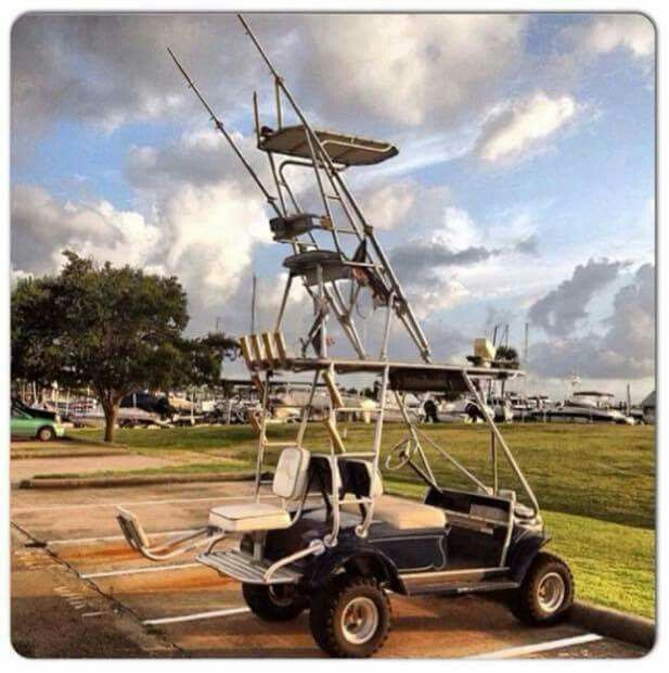 17 best images about extreme lifted golf carts on for Best fishing cart