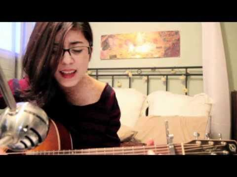 ▶ Daniela Andrade - Creep - YouTube  No, I do not agree with these lyrics AT ALL. But the chord progression does something with your soul, and she sings it so passionately with her unique voice.