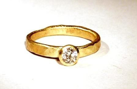 Disa Allsop - Gold and Diamond Ring £2375.00
