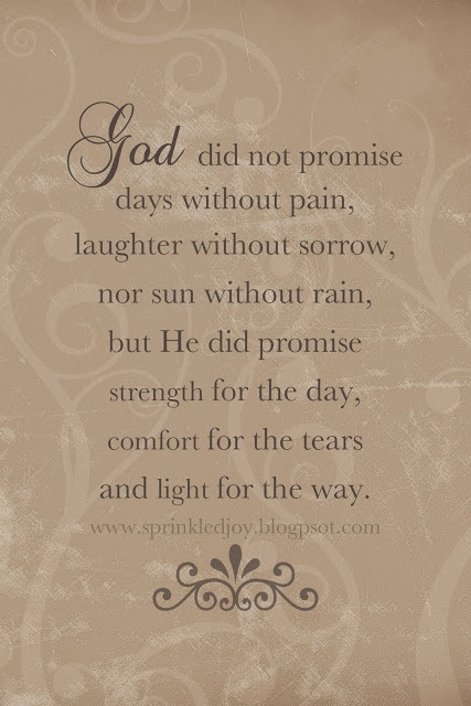 God will never abandon His children. Please believe and remember this. Trust Him and rely on him always.