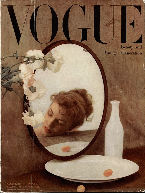 Vogue 1947. For beautiful wedding dresses go to www.emmahunt.co.uk