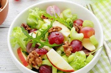 Вальдорфский салат - пошаговые рецепты с фото. Как приготовить классический вальдорфский салат