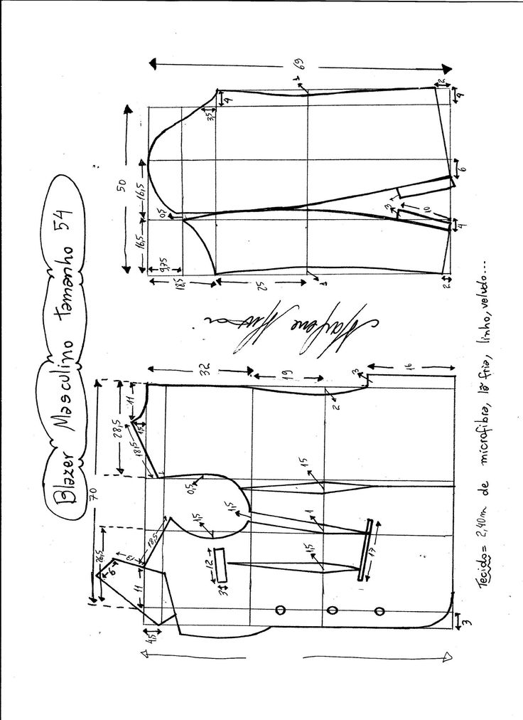 Patrón de chaqueta-americana para hombre. Tallas desde la 38 hasta la 56. Acabado y forro: Talla 38: Talla 40: Talla 42: Talla 44: Talla 46: Talla 48: Talla 50: Talla 52: Talla 54: Talla 56: Fuente:http://www.marlenemukai.com.br/ Patrón chaqueta ajustada con hebillaChaqueta cuello onduladoChaqueta con escote Blazer en forma de VPatrón de cardigan largo …
