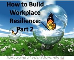 10 Tactics to Build Workplace Resilience - part 2 This is the second in the two-part series on how to build your workplace resilience in yourself and your team.Check out the full article at: http://skilljunction.com.au/?p=1215  Let us know what you think OR even better, let us know what tips and techniques you have used to build your own workplace resilience!