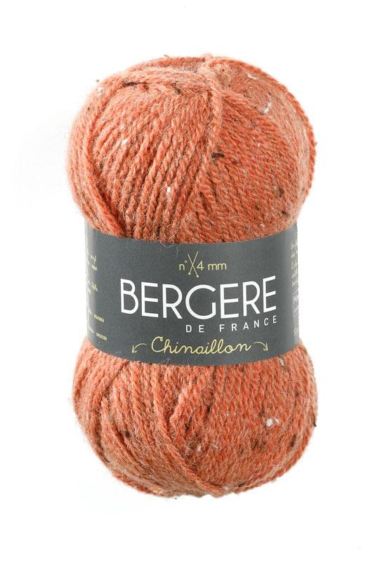 CHINAILLON  Needles - Aiguilles 4  Crochet hook - Crochet 4  56% Acrylique - Acrylic  30% Laine - Wool  10% Alpaga - Alpaca  4% Viscose