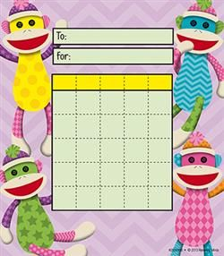 Colorful #SockMonkey Incentive Pads by Renewing Minds Monkey see monkey do your #classroom #decorations right with a Colorful Sock Monkey theme!  sc 1 st  Pinterest & 55 best Sock Monkey Classroom Theme images on Pinterest | Sock ...