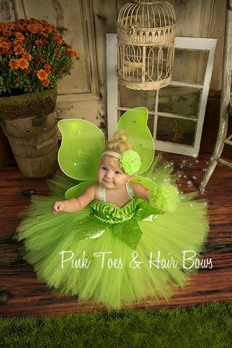 Tinkerbell Tutu Dress Tinkerbell by GlitterMeBaby on Etsy