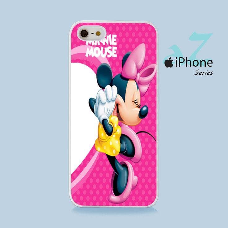 Minnie Mouse Phone Case | Apple iPhone 4/4s 5/5s 5c 6/6s 6/6s Plus Samsung Galaxy S3 S4 S5 S6 S6 Edge S7 S7 Edge Samsung Galaxy Note 3 4 5 Hard Case
