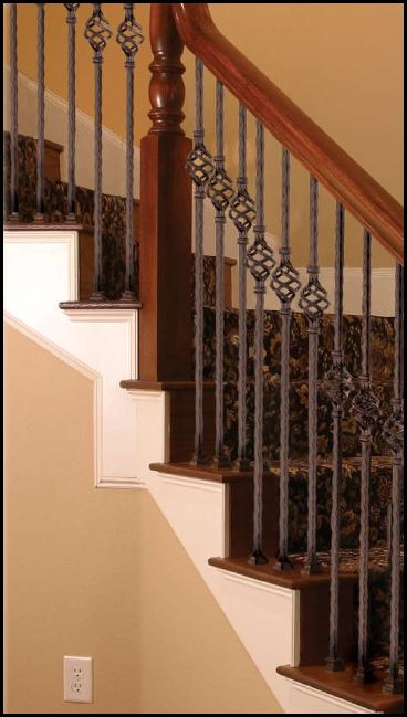 stair parts wrought iron series spindle spacing spindles cheap uk balusters