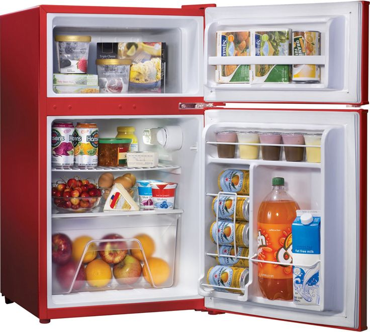 17 best ideas about mini fridge with freezer on pinterest dorm ideas college organization - Refrigerator small spaces style ...