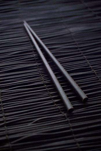 #baguettes #choinoise noir #deco #table