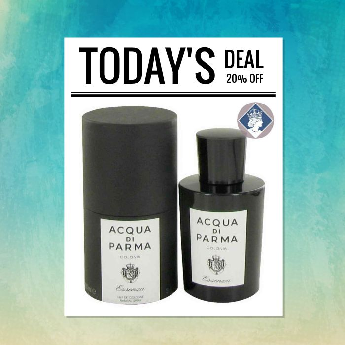 Today Only! 20% OFF this item.  Follow us on Pinterest to be the first to see our exciting Daily Deals. Today's Product: Acqua Di Parma Colonia Essenza 100ml/3.4oz Eau De Cologne Spray Men Fragrance Buy now: https://small.bz/AAcETKY #fashion #perfume #smellgood #picoftheday #instacool #onlineshopping #instashop #loveit #instafollow #shop #shopping #love #OTstores #smallbiz #instagood #musthave #photooftheday #sale #dailydeal #dealoftheday #todayonly #instadaily